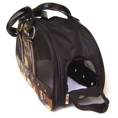 Fashion    Carrier on Dog Carrier Is For The Fashion Consious Dog About Town